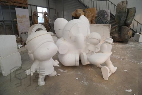 大连泡沫雕塑